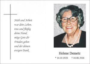 Helene Demetz