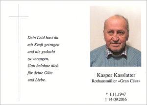 Kasper Kaslatter cr