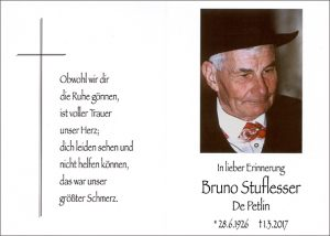 Bruno Stuflesser cr