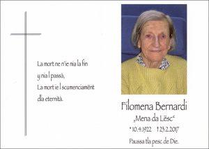 Filomena Bernardi cr